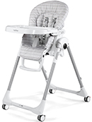 Peg-Perego Prima Pappa Follow Me Liner Grey